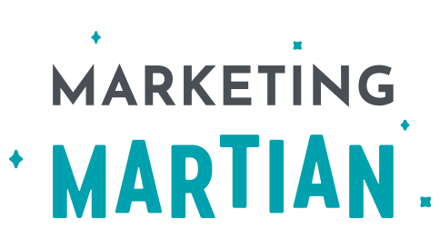 Marketing Martian Logo